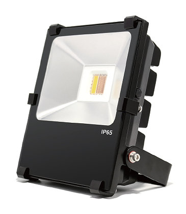 LED FLOOD LIGHT - 30W RGB+WW W/ REMOTE