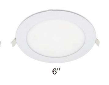"LED 6"" CCT SLIM RECESSED LIGHT"