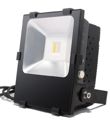 LED FLOOD LIGHT - 90W RGB+WW W/ REMOTE
