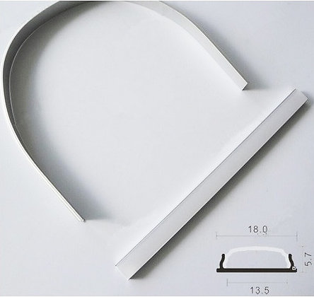 LED FLEXIBLE & BENDABLE ALUMINUM FIXTURE - (LP-Flex)