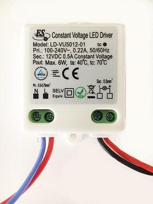 6W CONSTANT VOLTAGE LED DRIVER