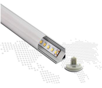 CORNER LED ALUMINUM FIXTURE - LP1616B