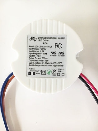 12W CONSTANT CURRENT DIMMABLE DRIVER