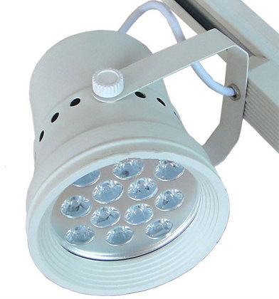 LED BF SERIES TRACK LIGHT - 12 WATT (WHITE FIXTURE)