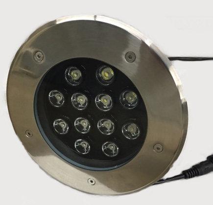 """LED IN GROUND LIGHT - 12 WATT (7.9"""" DIAMETER)"""