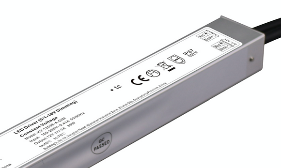 30W 0/1-10V CONSTANT VOLTAGE DIMMABLE DRIVER