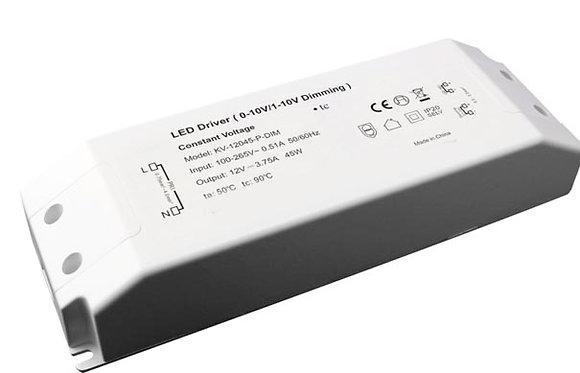45W 0/1-10V CONSTANT VOLTAGE DIMMABLE DRIVER
