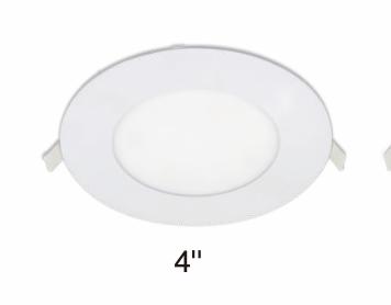 "LED 4"" CCT SLIM RECESSED LIGHT"
