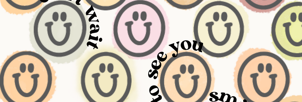 Can't Wait To See You Smile Label