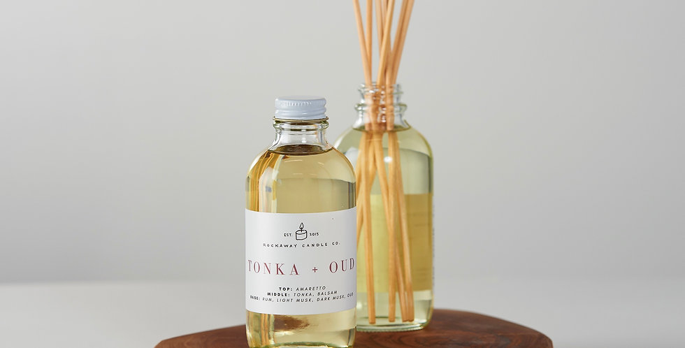 Tonka + Oud Reed Diffuser