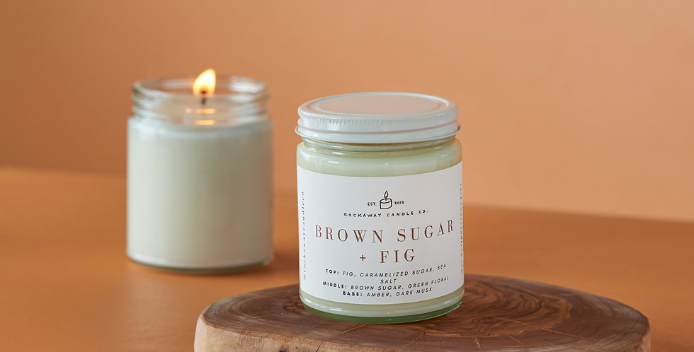 Brown Sugar + Fig Soy Candle