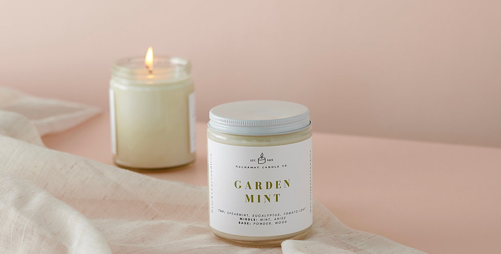 Garden Mint Soy Candle