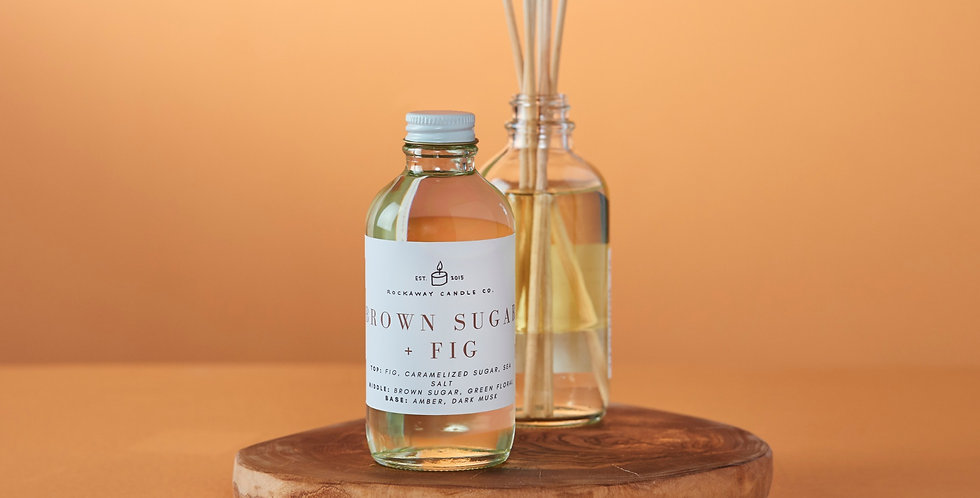 Brown Sugar + Fig Reed Diffuser