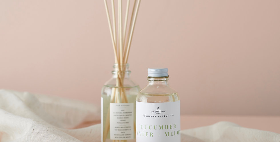 Cucumber Water + Melon Reed Diffuser