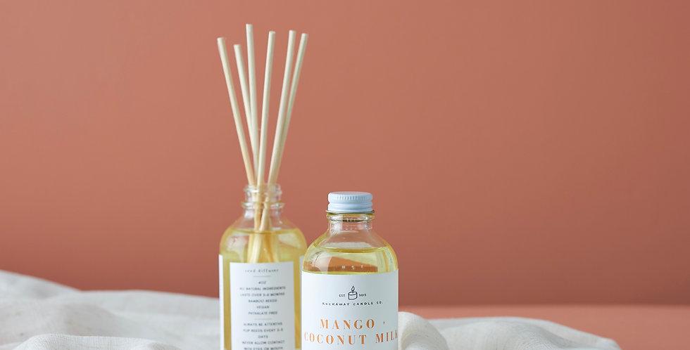 Mango + Coconut Milk Reed Diffuser