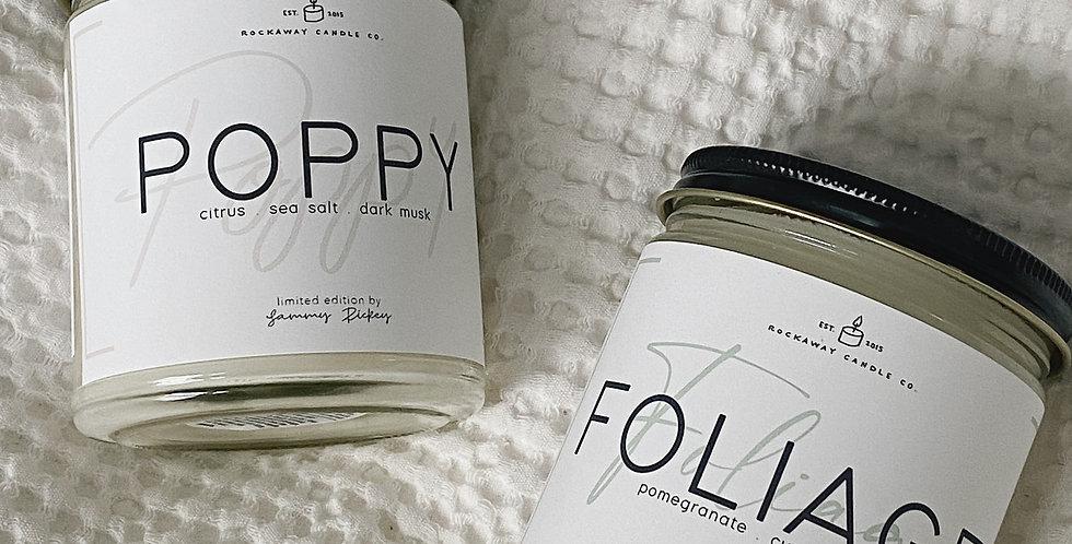 Foliage + Poppy Bundle