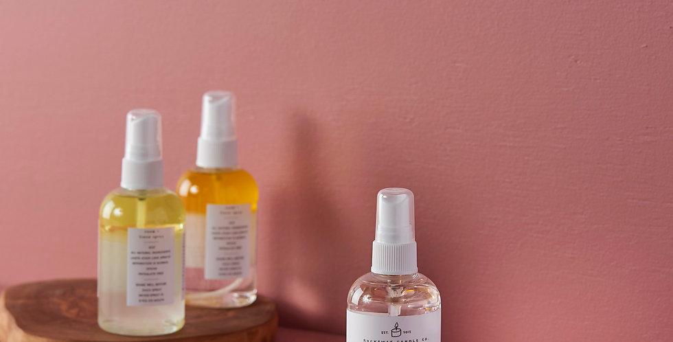 Peach White Tea Room + Linen Spray