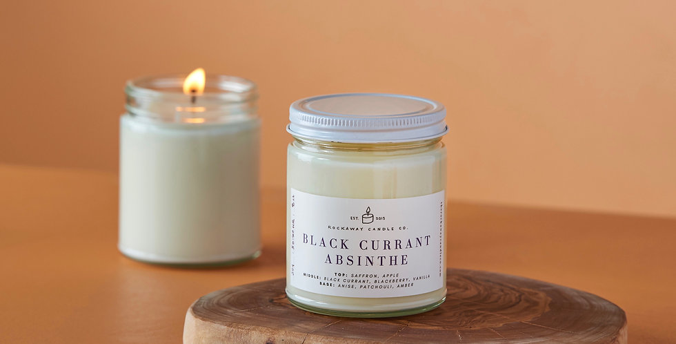 Black Currant Absinthe Soy Candle