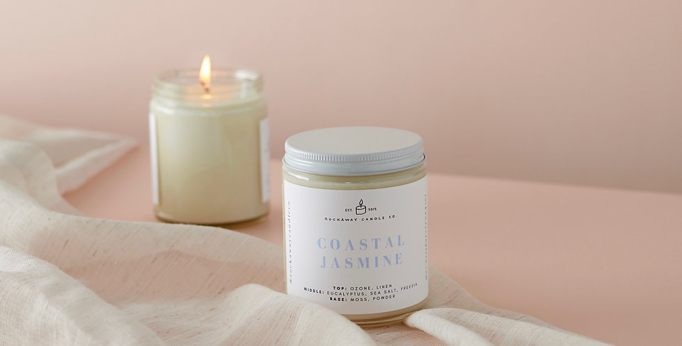 Coastal Jasmine Soy Candle