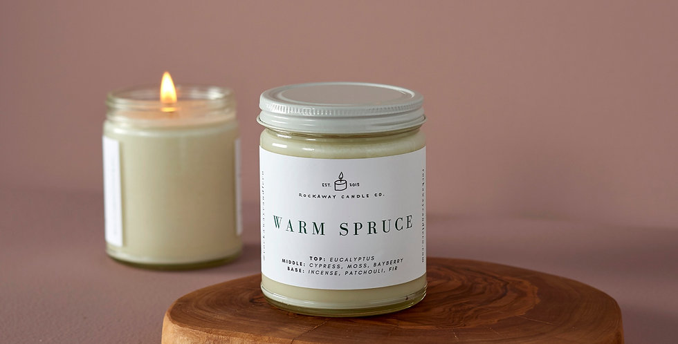 Warm Spruce Soy Candle