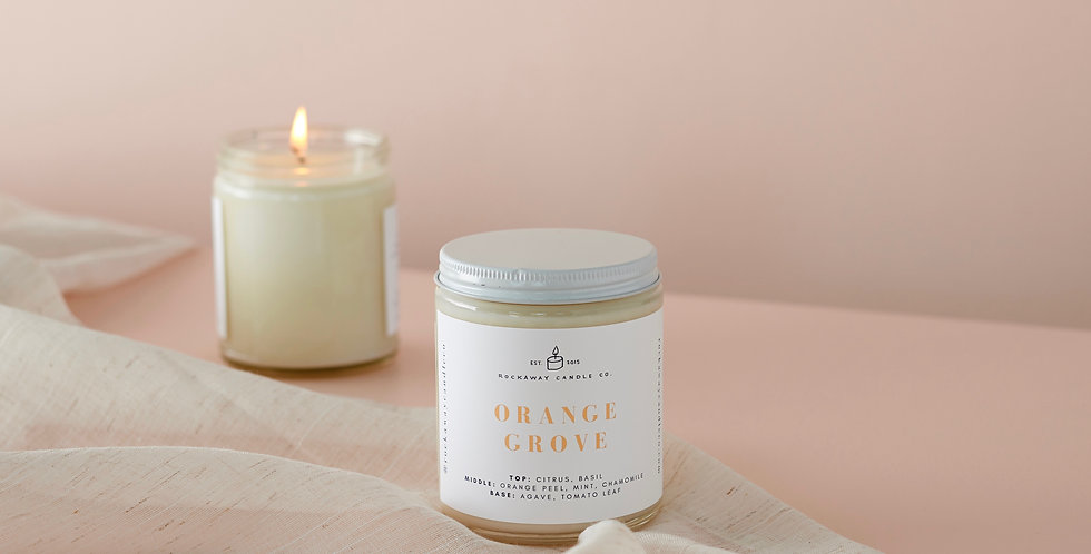 Orange Grove Soy Candle