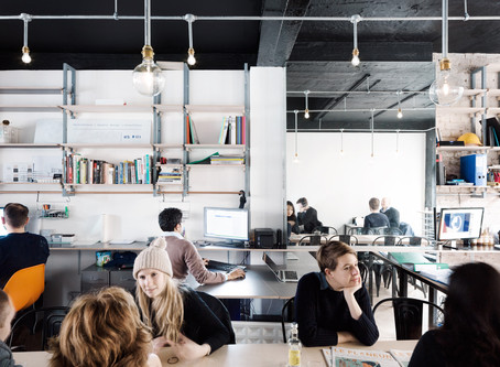 Designing for Co-working in London