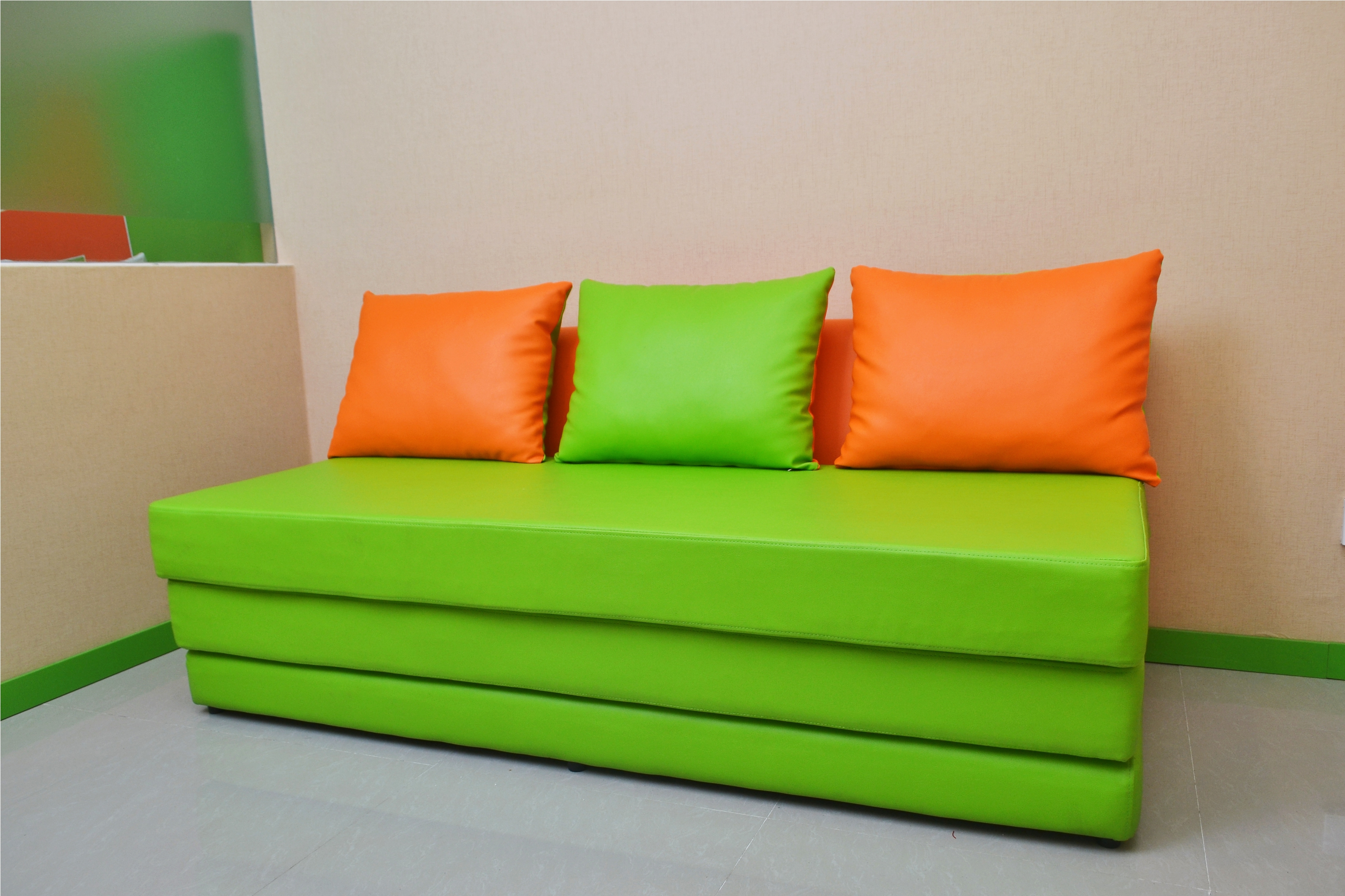 Sofa bed provided in all rooms