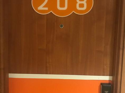 Entrance door's  room
