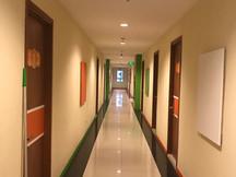 Light, clean & tidy corridor