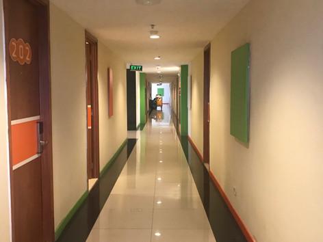 Neat & Clean Corridor