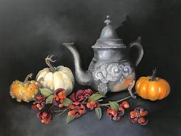 Szilvagyi_Pewter and Pumpkins 12x16.jpg