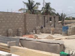 TOGO LOmé foyer d'accueil en constructio