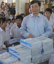 Vietnam Nord distribution de livres.JPG