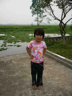 Vietnam Nord écolière