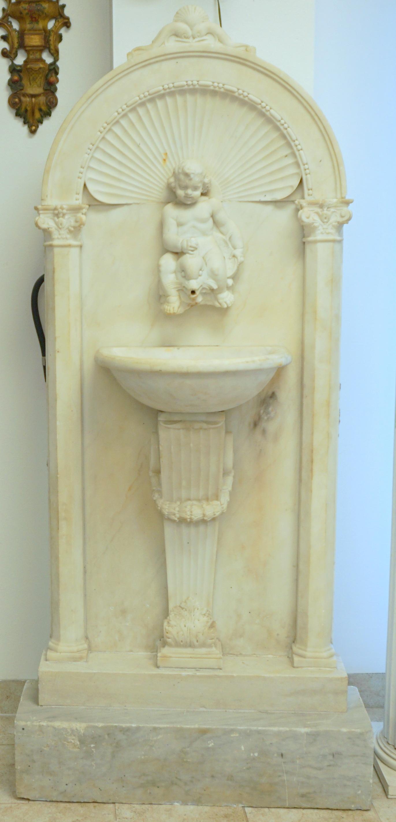 Marble Fountain 017-001