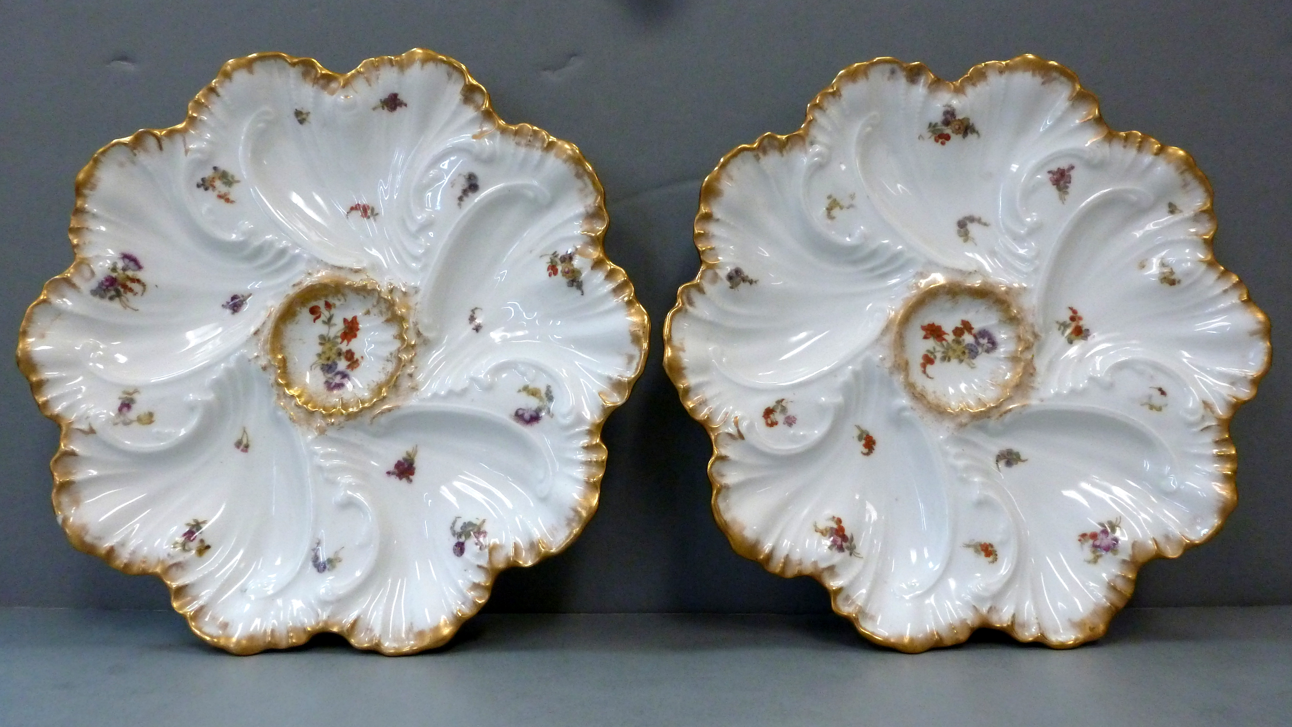 Pair Limoges Oysters 003-001