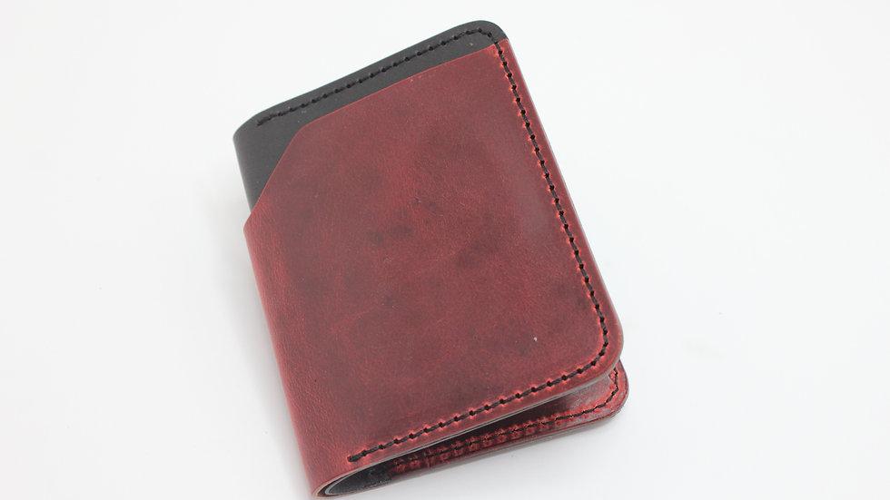 MK Slim Wallet - rot und schwarz