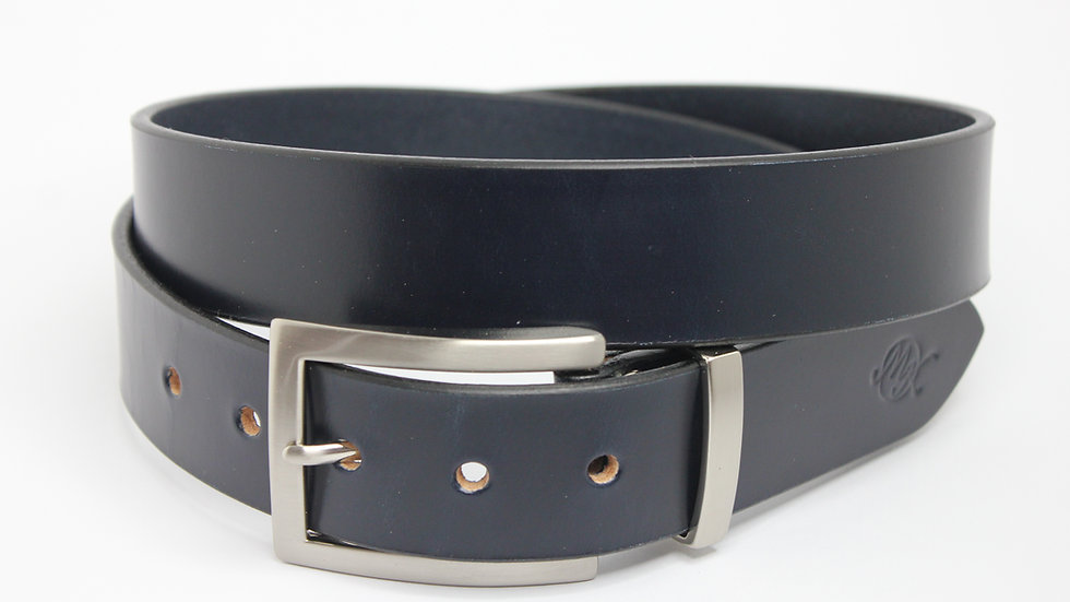 Schlichte Eleganz dunkelblau 3,5cm