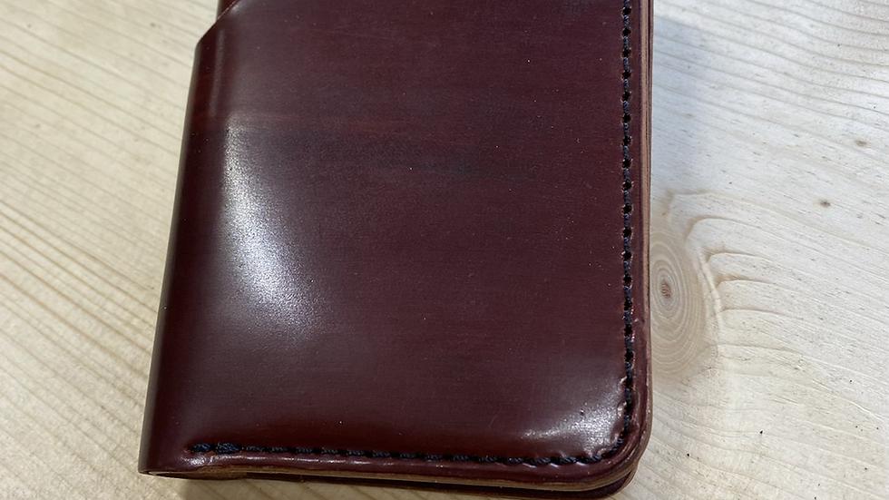 Shell Cordovan MK Slim Wallet