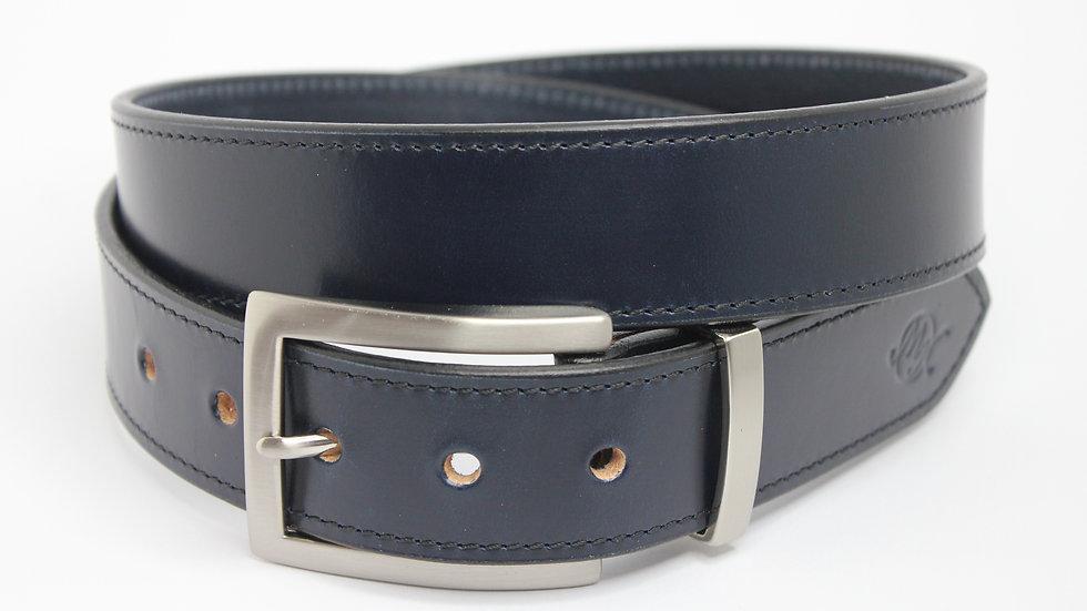 2te Wahl - Schlichte Eleganz dunkelblau 3,5cm mit Naht