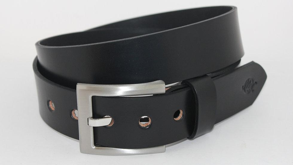 Schlichte Eleganz schwarz 4cm