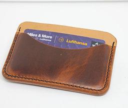 nr.1 Kartenetui - Minimalistischer Geldbeutel