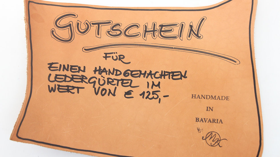 125€ Gutschein