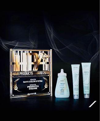 Hair Products Award 2018: Kemons Farbsystem NaYo Color System wurde mit dem Preis für die beste Produktfarbe ausgezeichnet.