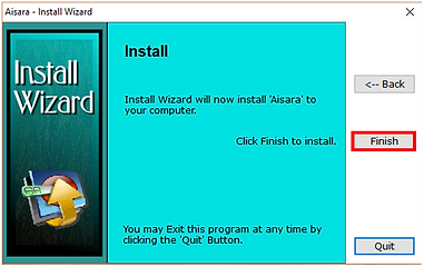 4 - Click Finish to start install.PNG