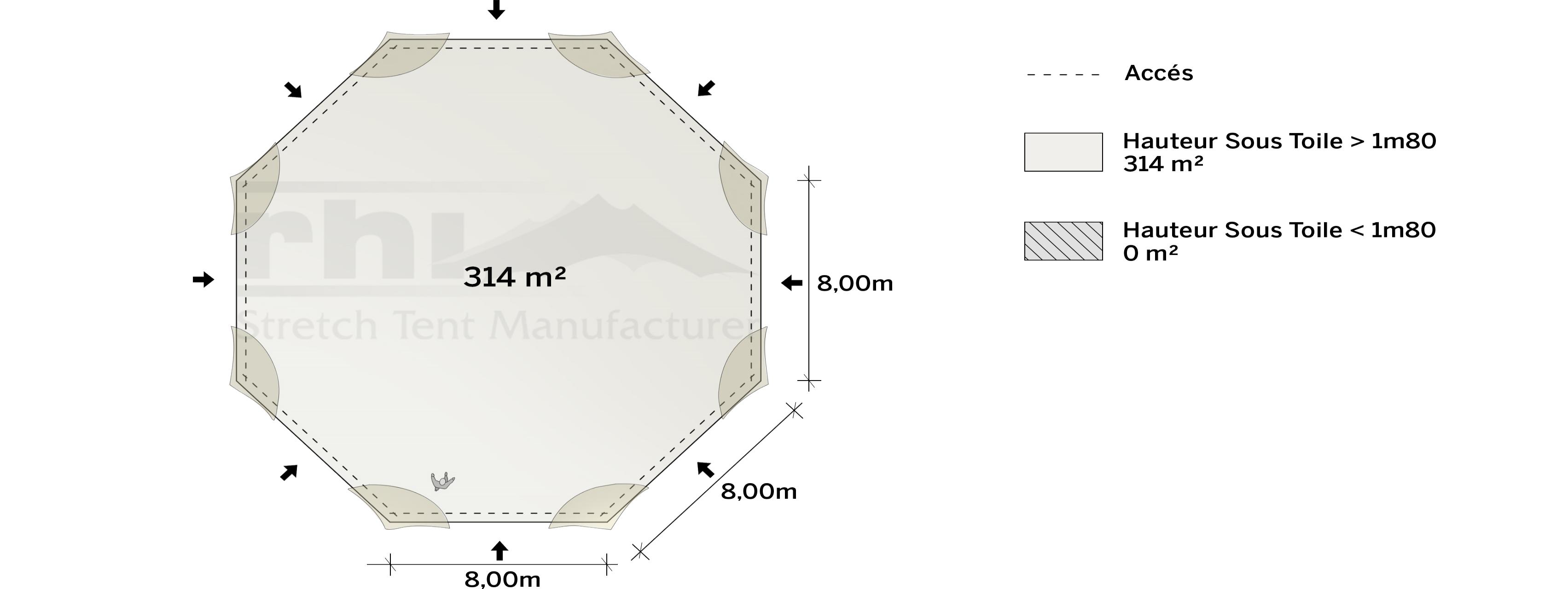 Surface-sans-portes