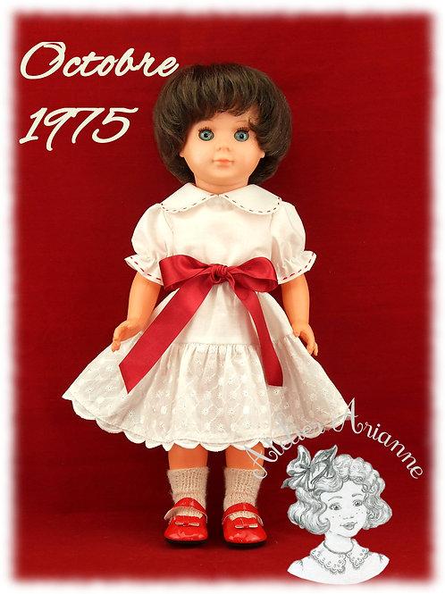 Octobre 1975 Tenue pour poupée Marie Françoise Modes et Travaux