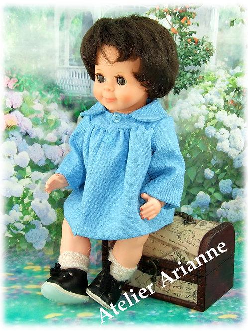 Tenue pour poupée Michel Modes et Travaux Novembre 1964