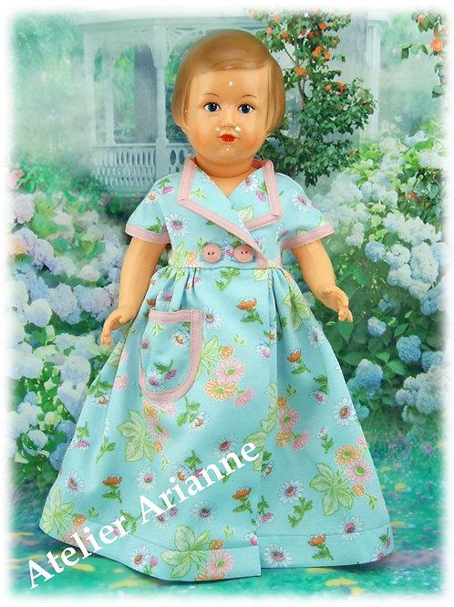 Tenue pour poupée Françoise Modes et Travaux Mai 1951