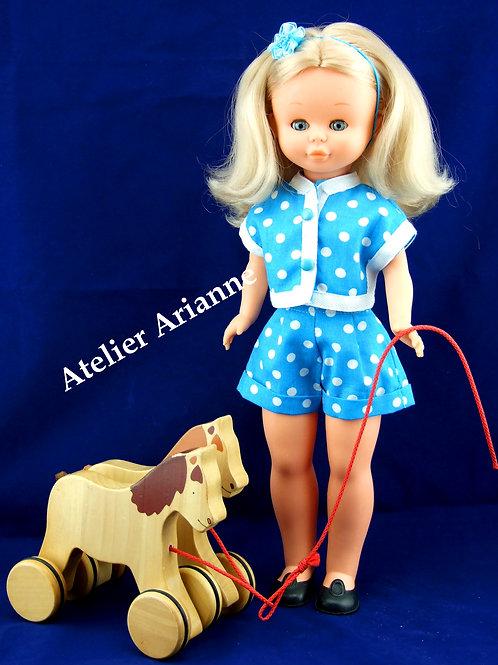 Tenue Evelyne pour poupée Nancy de Famosa